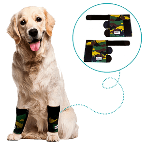 Pair of Compression Wraps for Arthritis in Joints